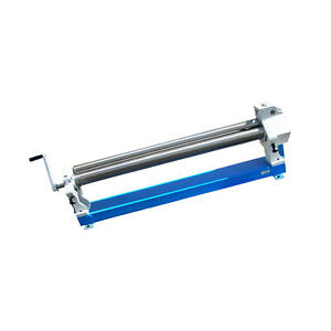 36 Slip Roll Roller 16 Gauge Sheet Metal Mild Steel Fabrication