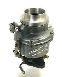 Chevy Gmc Remanufactured Rochester 1 Barrel Carburetor 235 Eng