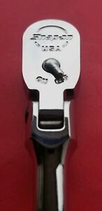 New Snap on Tools 3 8 Drive Long Handle Flex Ratchet Free Shipping Made In Usa