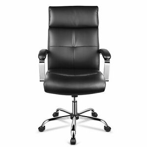 High back Office Chair Ergonomic executive Home Chair Pu Leather Adjustable