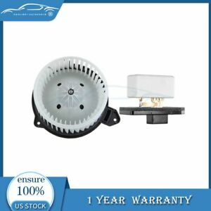 Fit For 02 08 Dodge Ram 1500 A c Heater Blower Motor And Resistor