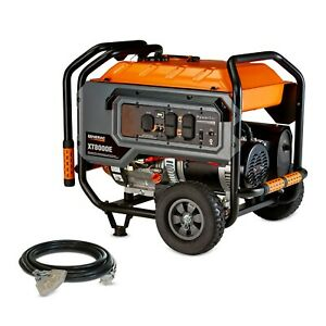 Generac 6433 Xt8000e 8 000 Watt Electric Start Portable Generator 49 St csa