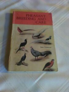 Pheasant Breeding And Care By Jean Delacour 1959 Paperback Egg Hatching