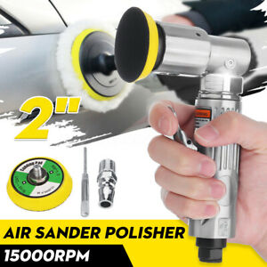 Mini Air Sander Polisher 90° Angle Orbital Polishing Car Grinding 2