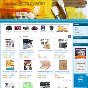 Drawing Art Tools Store Highly Profitable Online Business Website For Sale