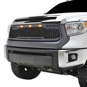 Replacement Main Raptor Front Grill Led Upper Grille Fit Toyota Tundra 2014 2019