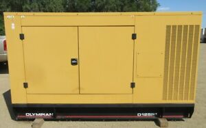 125 Kw Olympian Perkins Diesel Generator Genset 3 Phase Load Bank Tested
