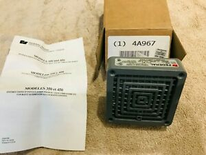 Federal Signal 350 120 30 Vibratone Electro mechanical Horn Surface Mount New