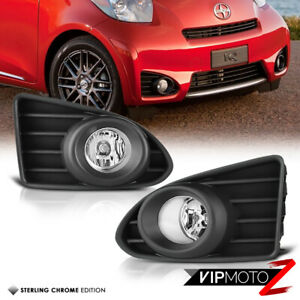 12 15 Scion Iq Factory Style Euro Clear Fog Light Assembly Kit W Switch Wires