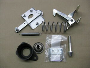 Mgb Hood Bonnet Catch Plate Safety Catch Complete Parts Pkg Hdwr All New