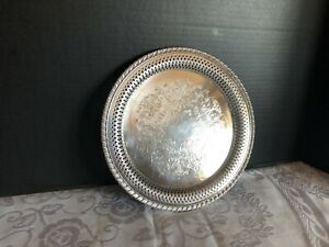 Wm A Rogers By Oneida Silversmiths 10 Serving Tray