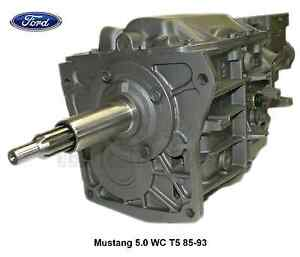 Ford Mustang 5 0 T5 Wc 2 95 1st Gear W 0 80 5th Od 5 Speed Transmission 83 93