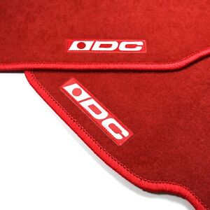 4pc Red Dc2 Floor Mat Carpet Custom Fit 94 01 Acura Integra Gsr Rs Ls Gs Type R