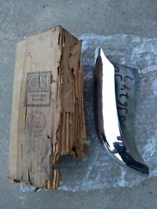 1960 Pontiac Rh Rear Nos Gm Bumper Guard