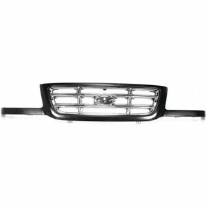 New Fits 2001 2003 Ford Ranger Front Grille Assembly 3l5z8200ca Fo1200394
