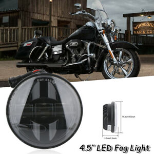 4 5inch 4 1 2 Led Passing Lights Fog Spot Auxiliary Lamp For Harley Davidson