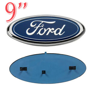New 2005 2007 Ford F 250 Blue Oval Front Grille 9 Inch Logo 4l3z 1542528 Ab