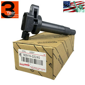 New Ignition Coil For Toyota Scion Echo Prius Yaris Xa Xb 90919 02240