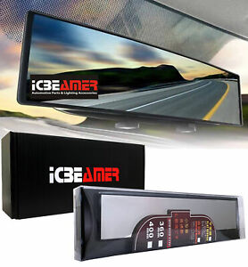 Broadway 400mm Convex Clear Blind Spot Interior Rear View Mirror Snap On M393