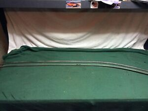 1961 1962 Chevy Impala Bubble Top Drip Rail Stainless Moldings