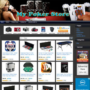 Poker Store Make Money With Your Own Affiliate Business E commerce Website