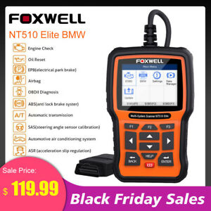For Bmw Obd2 Full System Abs Srs Airbag At Diagnostic Scanner Tool Foxwell Nt510