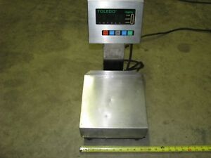 Toledo Scale 3026 Weight Measuring Digital Weigh Of 18 Lb Capacity 120 Volt