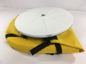 Trimble Gps Antenna Model Zephyr Geodetic 41249 00 Dc 4537 With Bag