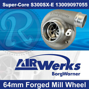 Borg Warner S300sx e Super core Turbo 64mm Inducer Forged Mill Wheel brand New