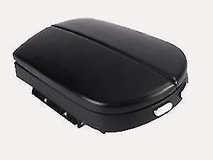 Real Leather Black Center Console Lid Armrest Cover Fits 07 13 Acura Mdx