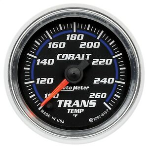 Autometer 6157 Cobalt Electric Transmission Temperature Gauge