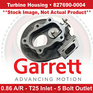 Garrett Turbo Turbine Housing For Gtx2867r Gen Ii 0 86 A r T25 Inlet