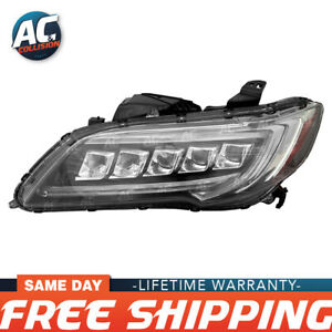 20 9732 00 1 Headlight Assembly Driver Side For 16 18 Acura Rdx Lh