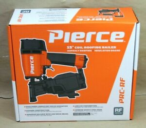 New Pierce Prc rf 15 Degree Coil Roofing Nailer 64254 Free Shipping
