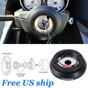 Steering Wheel Short Hub Adapter Kit For Eclipse Lancer Galant Impreza Wrx 100h