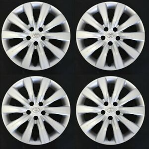 A Set Of 16 Toyota Corolla 11 12 13 Hubcaps Wheel Covers Rim Cover 570 61159