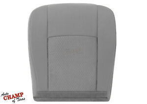 2009 2019 Ford Econoline Cargo Van Driver Side Bottom Cloth Seat Cover Gray