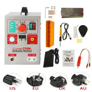 Sunkko 709a Battery Pulse Spot Welder 18650 Soldering Welding Machine 110v 220v