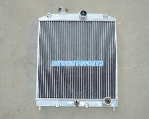 42mm Aluminum Radiator For Honda Civic Ek Eg D15 D16 28mm Pipe 1992 2000 99 98