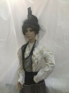Rare Vintage G d Williams Store Mannequin Full Size Realistic Face