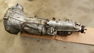 Good Used Overdrive Transmission Gearbox 4 Speed 4 Synchro Mgb 1968 1980