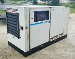 Ingersoll Rand 50 Hp Rotary Screw Industrial Air Compressor ssr epe50 208 Cfm