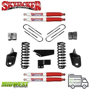 Skyjacker 5 Suspension Lift Kit W Hydro Shocks For 1980 96 Ford F250 F350 2wd
