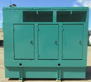 200 Kw Cummins Onan Quietsite Diesel Generator Genset Load Bank Tested