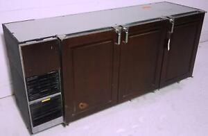 Glastender Bb84 l6 unh lrr Beer Bottle Back Bar Cooler 7ft