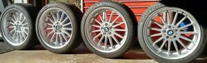 20 Inch Alpina Style 32 Bmw Oem Staggered Wheels