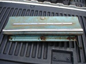 1965 Chevrolet Impala Interior Dash Glove Box Door Hinge Trim Lock Gm Oem