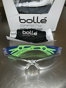 10 pr Bolle Safety 40256 Rush Safety Glasses Clear Anti fog Scratch resistant