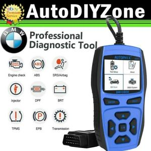 Bmw Diagnostic Scanner Tool Abs Srs Obd2 Ii Code Reader Icarsoft Foxwell Launch