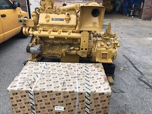 Caterpillar 3408 Marine Diesel Engine